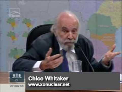 Chico Whitaker alerta para os riscos da energia nuclear - 3ª parte