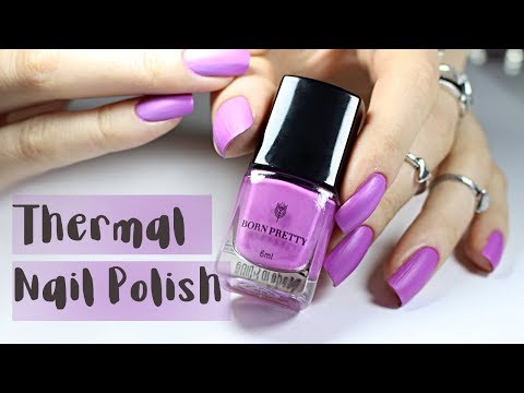 Thermal Color Changing Nail Polish | Nail Makeover