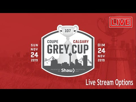 Ways to Watch Grey Cup 2019 Live Online