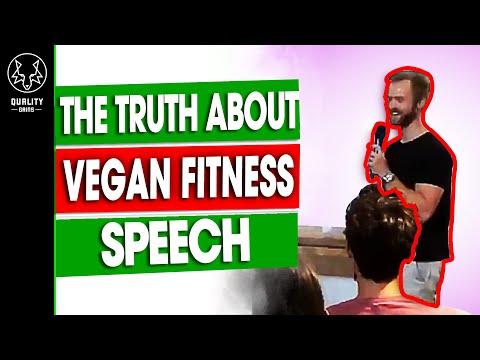 The Truth About Vegan Fitness Speech - Canggu: Indonesia