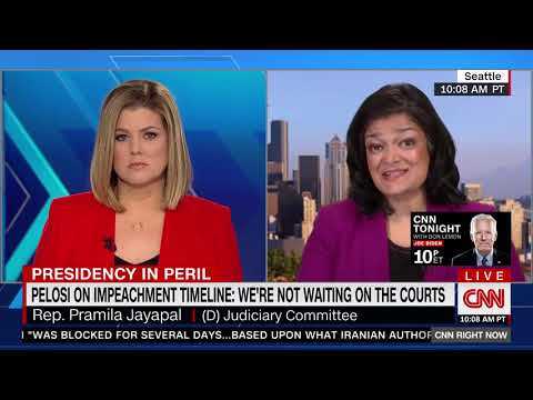 Jayapal: Trump 'Trying to Use the Court System' Is 'Obstruction of Justice'