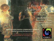 Greater New Haven Community Chorus - Fall Concert