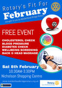 Fit for February, brought to you by Maidenhead Bridge Rotary Club