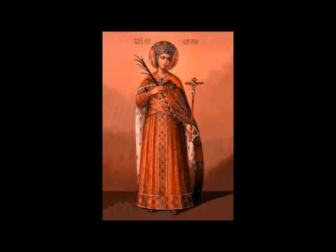 Acatistul Sfintei Mari Mucenițe Ecaterina - OmulOrtodox