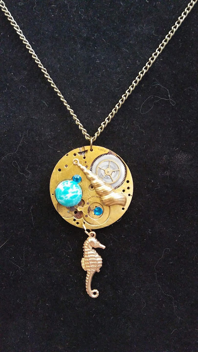 Ocean themed necklace