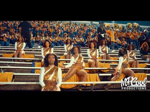 Girls Need Love - Alcorn State Marching Band and Golden Girls 2019 | vs JSU [4K]