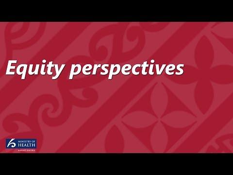 Equity perspectives - Keriana Brooking and John Whaanga.