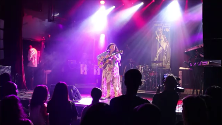 Hayley Verrall performing in Honey Jam Showcase August 22, 2019