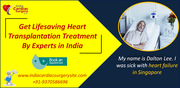Get Lifesaving Heart Transplantation Treatment By Experts in India