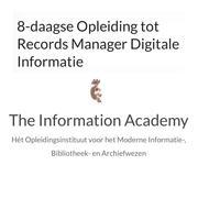 8-daagse opleiding tot Records Manager Digitale Informatie
