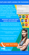 """Looking for solution to resolve issue """"Outlook Keeps Asking for Password"""""""