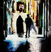 Couple in Alley