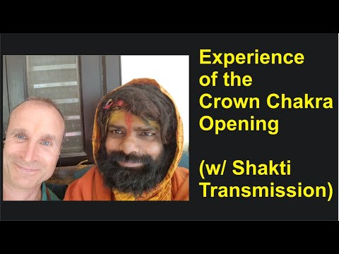 Experience of the Crown Chakra Opening (Sahasrara) & The Transmission of Grace (Kundalini Shakti)