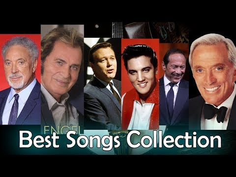 Elvis Presley, Neil Young, Paul Anka, Tom Jones, Matt Monro, Engelbert, The Cascades, Don McLean