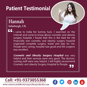 Hannah Got Smooth And Tone Midsection After Tummy Tuck Surgery in India