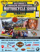Baltimore's Timonium International Motorcycle Show Feb 7-9