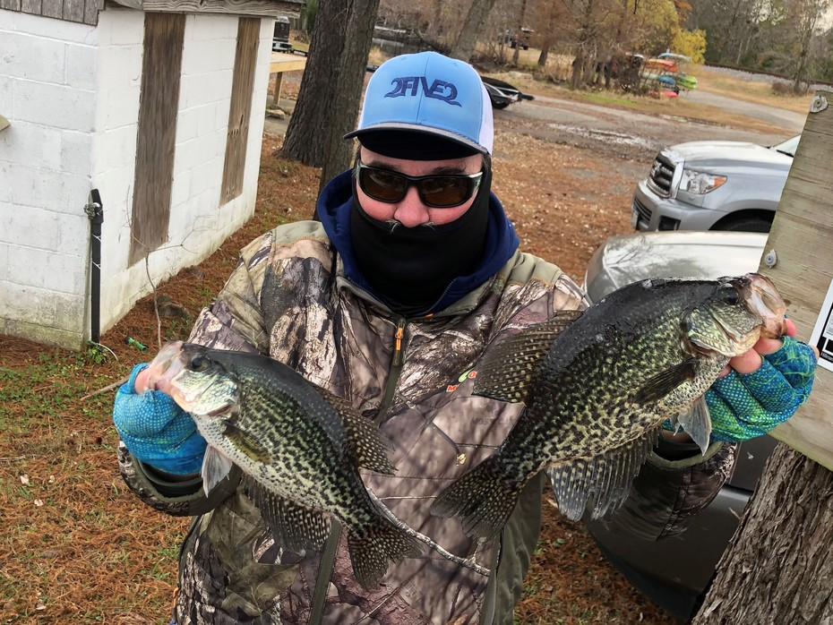 Crappie Daily Double.....11/30/2019