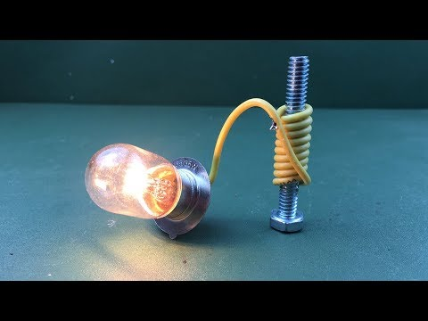 Free Energy Device With Magnet 100% - New Technology Science Project at Home