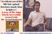 RELIEF AFTER 4 YEARS 6 MONTHS FROM RARE SPINE SURGERY BY DR. ARVIND KULKARNI