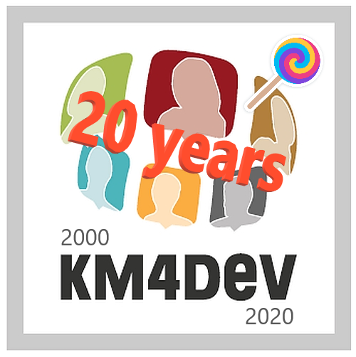 KM4Dev 20yrs