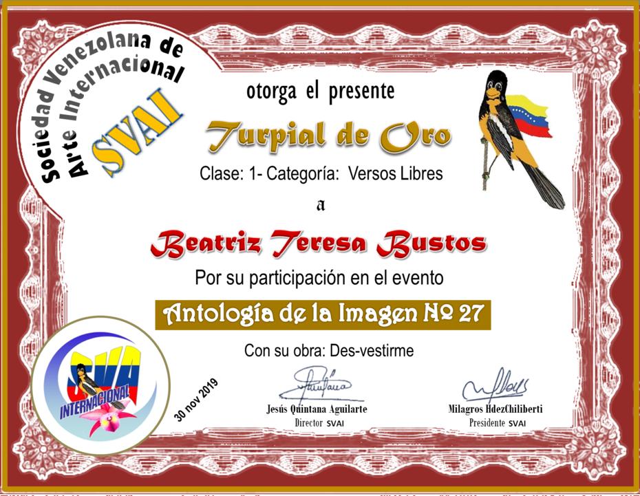 BEATRIZ TERESA BUSTOS