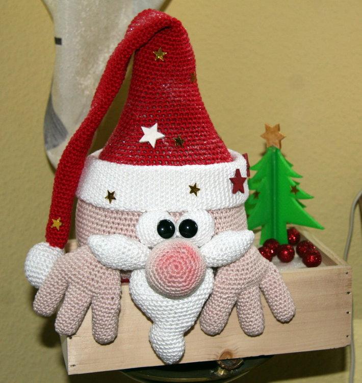 Kantengucker Weihnachtsmann