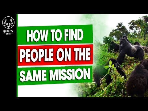 How To Find (Vegan) People On The Same Mission As You - Premium Content