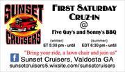 FIRST SATURDAY CRUISE IN - Valdosta, GA