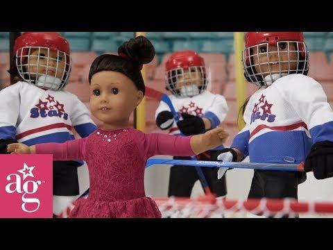 Winter Fun at the Skating Rink | Stop Motion | American Girl