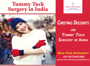 Attractive Christmas discounts to women on Tummy Tuck Surgery in India
