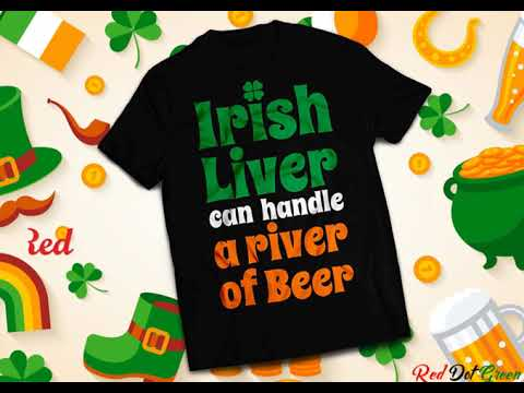 RedDotGreen Best St. Patrick's Day T-shirt collections