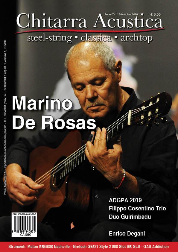 In copertina di Chitarra Acustica - ottobre 2019