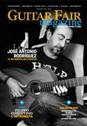 In copertina del magazine spagnolo Guitar Fair, 2015