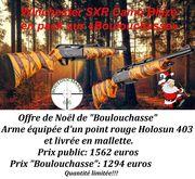 Winchester SXR Camo Blaze en offre de Noël;