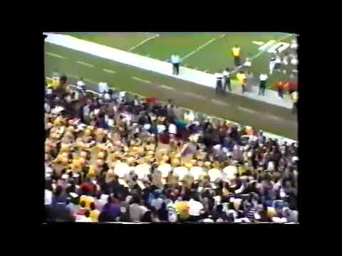 JSU Jsettes vs Alcorn State  Golden Girls 1988 (stands)