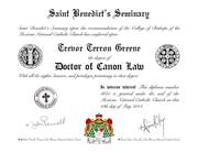 Doctor of Canon Law