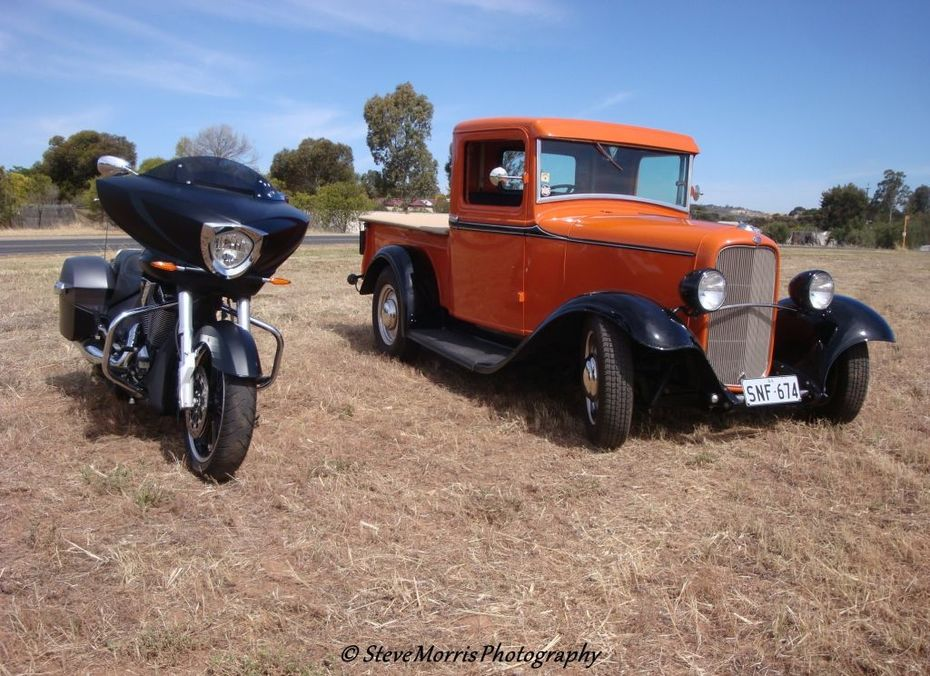VCC and Ford ute