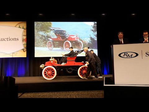 1903 Dyke, One of Three Known Crosses the Block At the  2019 RM Sotheby's, Hershey