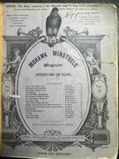 MOHAWK MINSTRELS 'magazine, #13