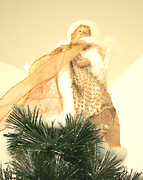 Angel at the Chritsmas tree