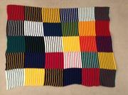 Bright, stripey Blanket