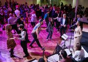 Works & Process at the Guggenheim presented Swing Dancing with Caleb Teicher, Chris Celiz, Ben Folds, Conrad Tao and Eyal Vilner Big Band