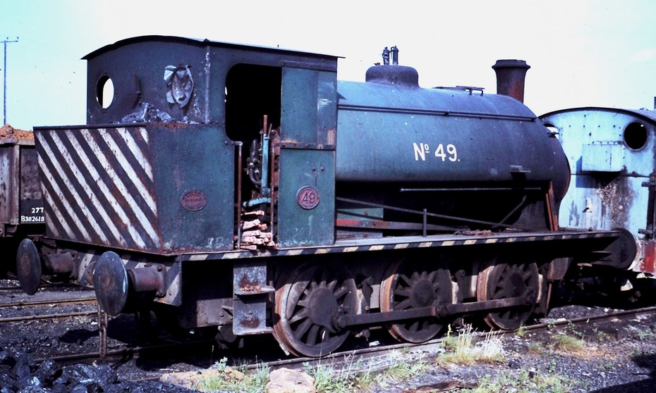 HE 0-6-0ST No,2032 of 1940 No.49