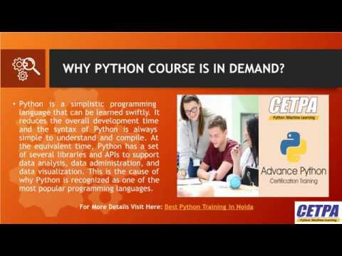 Why Python Course is in Demand? - Python And ML Training Courses