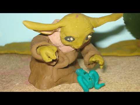 Baby Yoda Clay Animation test