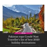 Conde Nast Traveler Pakistan
