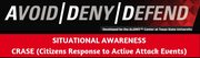 Civilian Response to Active Shooter Events and Stop the Bleed