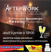 Afterwork entrepreneur Club LR 2020