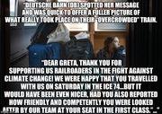 Greta's Train Ride