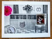 mail art Christmas Card